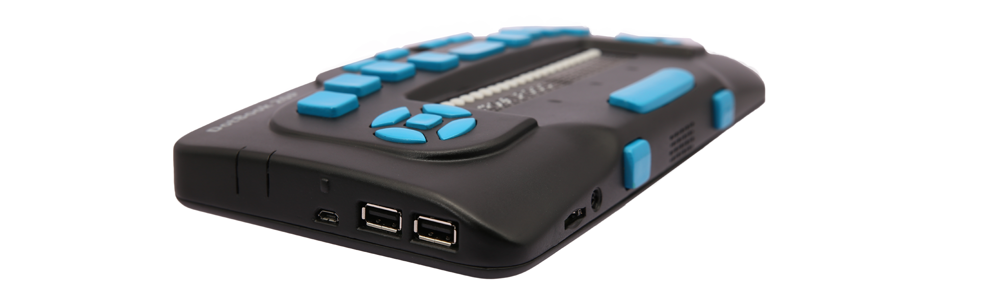 The DotBook 20P with USB and SD Card Port can be seen here.