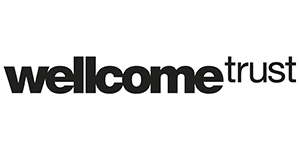 Logo of Wellcome trust, supported the development of DotBook